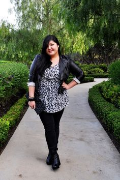 {East Coast Basics} REAL Curvy Girl inspiration from Allison Tang, her blog: Curvy Girl Chic