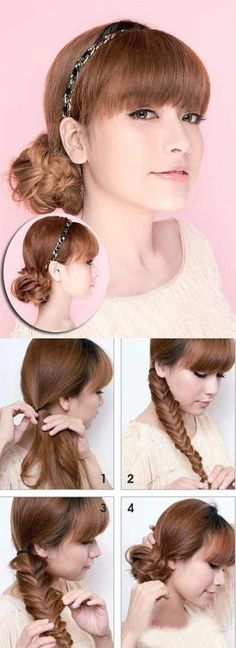 Miraculous How To Make A Beautiful Waterfall Braid Waterfall Braid Tutorials Short Hairstyles Gunalazisus
