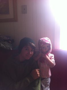 Me and my baby sister :-]