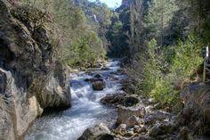 Ruta senderista del río borosa en jaén