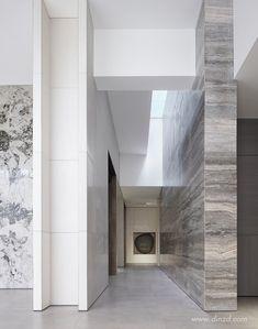 內構築 Commercial Interior Design, Shop Interior Design, Commercial Interiors, Lobby Lounge, Hotel Lobby, Architecture Details, Interior Architecture, Hotel Corridor, Modern Office Design