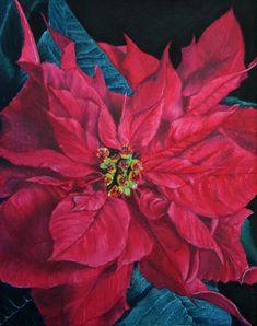 Winter Christmas Scenes, Christmas Art, Christmas Decoupage, Christmas Flowers, Christmas 2017, Xmas, Easy To Grow Houseplants, Arte Country, Magnolia Flower