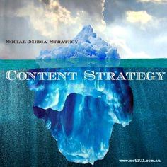 Tip of the social media iceberg. Social media #quotes