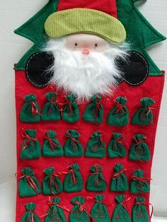 754c1724f77 Santa Advent Calendar Countdown to Christmas