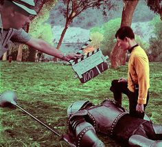 Rare Behind-the-Scenes Set Photos from the Original STAR TREK Series