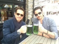 Happy St Patrick's day from the Thief & the Pirate. @colinodonoghue1