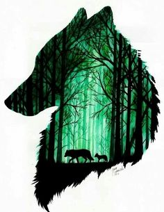 """Just the outer shape in black with """"the wolf you feed"""" in negative space Animals by Jonna Lamminaho длиннопост, арт, Jonna Lamminaho, Животные Animal Drawings, Cool Drawings, Hunting Art, Wolf Tattoos, Cross Tattoos, Ankle Tattoos, Lion Tattoo, Girl Tattoos, Sleeve Tattoos"""