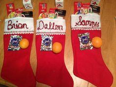 Colgate Holiday Packs Make Great Stuffing Stockers! #HolidaySmiles #CBias #Holidays #Crafts #Christmas #HolidayGiftGuide