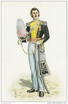 British; 4th Queens Own Light Dragoons, Officer 1822
