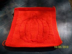 Pumpkin Dishcloth pattern by Kathleen