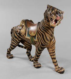 144: Carousel Tiger : Lot 144