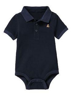 polo shirt body suit from Baby Gap