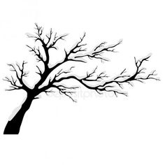 Get royalty-free images, photos, vectors, illustrations and videos from the best microstock - Depositphotos. Tree Leaves, Tree Branches, Trees, Button Tree, Outline Art, White Ombre, Plant Drawing, Autumn Painting, Tree Silhouette