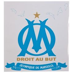 Olympique de Marseille Logo Car Sticker: Olympique de Marseille Logo Car StickerPerfect for any Olympique de Marseille fan, this car…