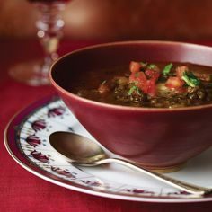 Black Lentil Soup   Food & Wine