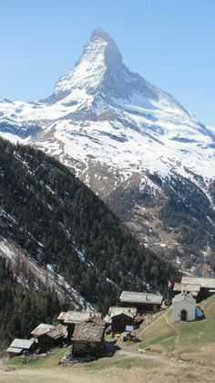 Outside's Top 10 Ski Resorts in Europe: Zermatt, Switzerland. Best on-mountain drinking and dining. We recommend eating at the Chez Vrony and enjoying live music at the Hennu Stalle or the Cervo.