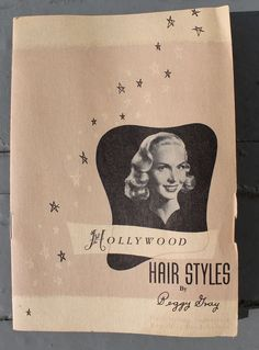 how to make professional pin curls Hollywood Hairstyles by Peggy Lee via Va-Voom Vintage Hollywood Hairstyles, 1940s Hairstyles, Cool Hairstyles, Wedding Hairstyles, Vintage Curls, Retro Vintage, Vintage Ideas, Vintage Shoes, Vintage Patterns