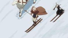 Lindel y Elias... HA HA xD Mahoutsukai no Yome.