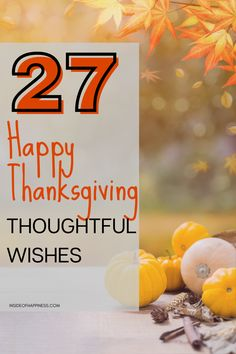 Warm and Thoughtful Thanksgiving Wishes