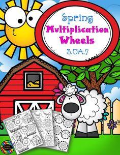 Need extra multiplication practice? Here are 15 double-sided worksheets with multiplication wheels for facts all the way up to Multiplication Wheel, Teaching Multiplication, Teaching Math, Spring Activities, Classroom Activities, Math Classroom, 3rd Grade Math, Third Grade, Grade 1