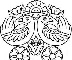 Embroidery Designs at Urban Threads - Pajaros y Calavera Skull Coloring Pages, Coloring Book Pages, Embroidery Stitches, Embroidery Patterns, Hand Embroidery, Henna Patterns, Color Mind, Tumblr Tattoo, Mexican Embroidery
