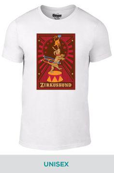 Unisex ZirkusHund Circus Dog T-shirt