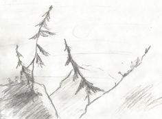 Góry by kajtek21.deviantart.com on @DeviantArt Drawing Sketches, Drawings, Pencil, Landscape, Outdoor, Outdoors, Scenery, Sketches, Outdoor Games