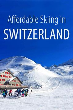 [original_tittle] – Family Travel With Kids [pin_tittle] Practical tips for booking budget – friendly Swiss ski holidays, including the list of cheap ski resorts and suggested hotels for an affordable family ski vacation in Switzerland. All Family, Family Ski, Family Travel, Family Rooms, Europe Train Travel, Europe Travel Tips, Ski Europe, Travel City, Backpacking Europe