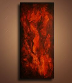 354 Original Textured Abstract Painting on Canvas by itarts, $255.00