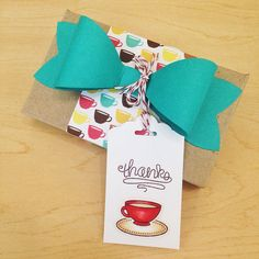 Lawn Fawn - Love You a Latte _ fabulous gift decor and tag by Wanda via Flickr - Photo Sharing!