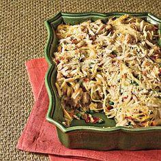 Chicken Tetrazzini With Prosciutto and Peas Recipe   MyRecipes.com