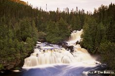 Waterfall, Wabakimi Provincial Park, Photo by Ian Beatty Ontario Provincial Parks, Beautiful Sunset, Curiosity, Waterfalls, Wilderness, Habitats, Travel Destinations, Scenery, Places To Visit