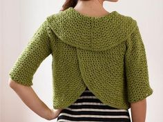 Shop Craftsy's premiere assortment of crocheting supplies and save! Get the Round-About Cardigan Kit before it sells out. - via @Craftsy