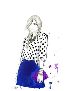 Alicia Malesani Fashion Illustrations