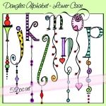 Dangle Alphabet. http://www.oliviaandco.com/shop/DanglesAlphabet%E2%80%93Lower-Case#.U_04aKROXIW