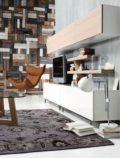 light & functional furniture - urban interior design by BoConcept .... THE WALL!