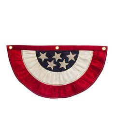 Loving this American Flag Bunting - Set of Two on #zulily! #zulilyfinds