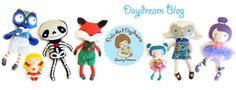 * Dolls And Daydreams - Doll And Softie PDF Sewing Patterns. Examples of customer creativity using the softie patterns. Sew cute!