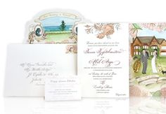 Personalized Invitations // CeCi New York // The Knot Blog // http://blog.theknot.com/2013/09/29/wedding-invitation-must-haves-ceci-new-york
