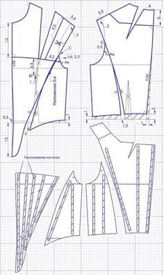 stay placement - link no longer works Diy Clothing, Sewing Clothes, Clothing Patterns, Sewing Patterns, Techniques Couture, Sewing Techniques, Pattern Cutting, Pattern Making, Vintage Patterns