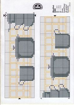 Sewing Projects For Kids, Craft Projects, Cross Stitch Embroidery, Cross Stitch Patterns, Cross Stitch Kitchen, Pixel Art, Weaving, Kids Rugs, Knitting