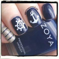 Tunay Na Mahal: Nautical Nails with Zoya Ryan