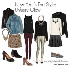 New Year's Eve Outfit Inspiration from StyleMeetLife.com #nye #dresses #sequins #sparkle #styleblogger #topshop #jcrew #madewell #baublebar #nordstrom #madewell