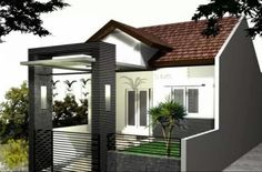 Contoh Gambar Model Kanopi Rumah Minimalis (9)