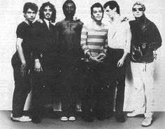 and the Blockheads 1977.