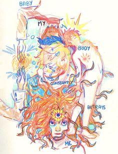 Sketchbook Inspiration, Art Sketchbook, Art Sketches, Art Drawings, Vent Art, Art Hoe, Pretty Art, Aesthetic Art, Art Inspo