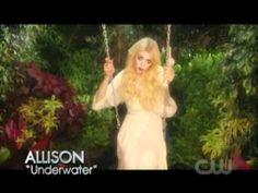 America's Next Top Model (music video challenge) Allison Harvard Underwater HD  I l o v e Her! =D