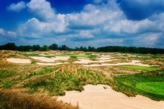The 17th hole at Purgatory Golf Club, I've heard it called the most photographed golf hole in Indiana.