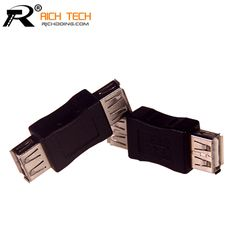 USB Female to USB Female connector Notebook tablet computer adapter hotsale RICH TECH connector