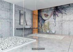 Afbeeldingen op een ondergrond van echt pleisterwerk! De op maat gemaakte murals van Affreschi & Affreschi zorgen voor een  waanzinnig effect op je muur. www.puurkleur.com